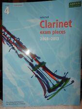 NEW & UNUSED ABRSM Selected Clarinet Exam Pieces 2008-2013 grade 4 score & part
