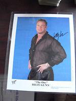 WWF WWE Wrestling Superstar Billy Gunn Signed 8x10 Photograph LOOK