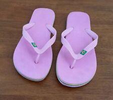 Beach Medium (B, M) Rubber Solid Sandals & Flip Flops for Women
