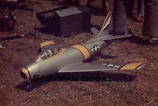 ANSCOCHROME 35mm Slide USAF Air Force FU711 Pilot Remote Controlled Plane 1950s?