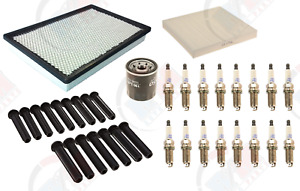 Tune Up Kit with DENSO Plugs & Boots for 2011-2012 Dodge Ram 1500 5.7L HEMI