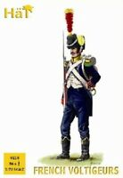 HAT 8218 1/72 Napoleonic Wars French Light Voltigeurs (56) Plastic Toy Soldiers