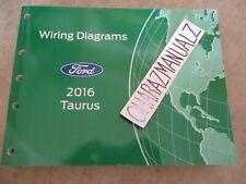 2016 Ford Taurus Wiring Diagrams Manual OEM