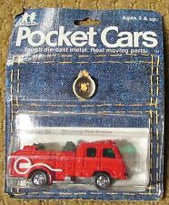 1979 TOMY / Tomica Pocket Cars Chemical Fire Engine No. 145-94 Assort. No. 4502