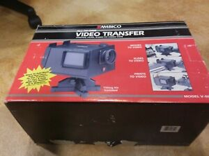 AMBICO V-0652 8mm Film All In One Video Transfer System With Original Box