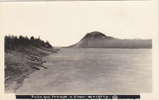 RP: Canoes along shore at Wrigley , MacKenzie River , N.W.T. , Canada , 10-20s