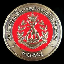 4 RAR COMMANDO ROYAL AUSTRALIAN REGIMENT UNIT COIN * AFGHANISTAN * IRAQ *   -01