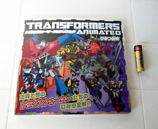 Transformers ✰ Animated Japan TV Anime & Toy PICTURE BOOK ✰  ✰✰ CLOSEOUT PRICE!!
