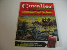 Vintage CAVALIER magazine FEB 1961 HEAD HUNTERS; CAR GUNS;GANGRENE;POWERBOATS-VG