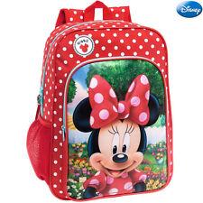 Zaino Scuola Minnie Disney Elementare Medie Zainetto 30x40x16 Borsa Adattabile