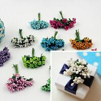 12x Berry Artificial Handmade Flower For Wedding Home Decoration Fake FloweR HK