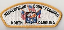 BSA Mecklenburg County Councill, NC, Old 1970s CSP, NICE MINT!