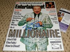 Regis Philbin Signed Entertainment Weekly Magazine Jsa Autograph Millionaire