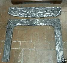 Camino in marmo grigio - Francia - primi '800