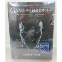 Game of Thrones: The Complete Seventh Season DVD 5-Disc Set Not Rated