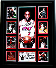 New Dwyane Wade Signed Miami Heat Limited Edition Memorabilia