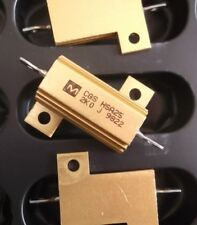 Résistance 16R 25 W Power 25 W 16 ohms HSA HS 5% Aluminium housed X 2pcs gauche