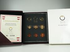 *** Euro KMS Austria 2006 PP lucide piastra Austria CORSO set di monete Coin Set