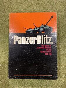 Panzer Blitz WWII Armored Warfare Avalon Hill Bookcase Game in good condition
