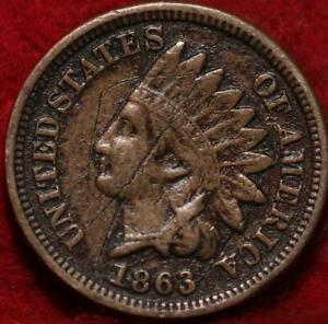 1863 Philadelphia Mint Indian Head Cent
