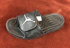 Air Jordan Hydro 5 Retro V Sandals Slides  Black 820257-010 Men's Size 8