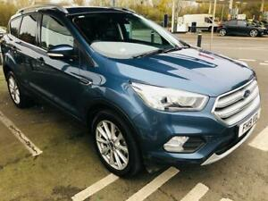 FORD KUGA 1.5 ECOBOOST TITANIUM EDITION *19* REG CAT S REPAIRED