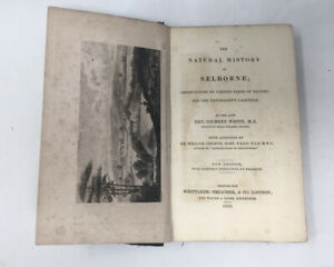 Gilbert White's The Natural History of Selborne 1833