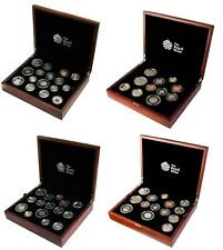 Royal Mint UK Premium Proof Coin Sets 2012 to 2018