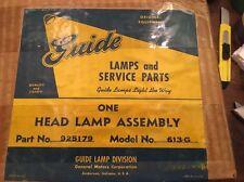 NOS 1942-48 BUICK ALL 1949 SPECIALHEADLIGHT ASSEMBLY  DOOR BUCKET GUIDE ORIGINAL
