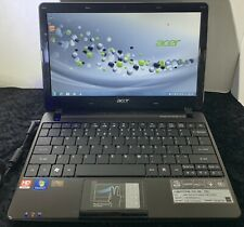 Black Acer Aspire One 722 Netbook (AMD C-50 1GHz /2 GB/320 GB/Windows 7/64-bit)