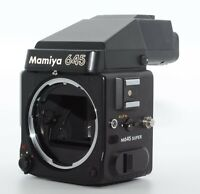 【As-Is】 Mamiya M645 Super AE Finder Film Camera Medium Format from Japan #Q20