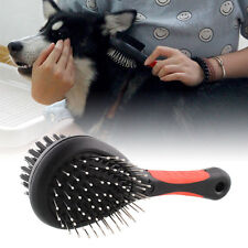 Useful Pet Grooming Brush Dog Cat Care Puppy Double Sided Pro Hair Shedding Tool