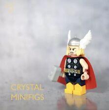 **NEW**CRYSTAL MINIFIGS Custom Thor V2 Lego Minifigure