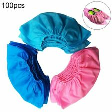 100Pcs Waterproof Disposable Non-woven Fabrics Shoe Covers Overshoes Boot