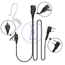In-ear Earpiece Headset For ICOM IC-V8 V80 V85 F3021 F4000 F4031 Portable Radio