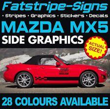 MAZDA MX5 GRAPHICS DECALS STICKERS STRIPES CAR VINYL EUNOS ROADSTER 1.6 1.8 MX-5