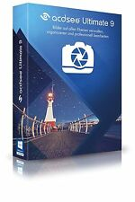 ACDSee Ultimate 9 Box deutsch CD/DVD von ACDSee Systems EAN 4025461004523