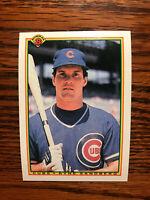 1990 Bowman #30 Ryne Sandberg Baseball Card Chicago Cubs HOF Raw