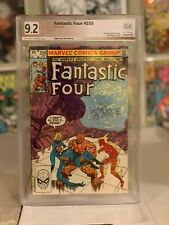 Fantastic Four #255! PGX (Not CGC SS) 9.2! Signed by Byrne! SEE PICS AND SCANS!