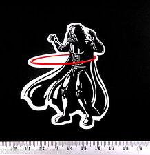 Darth Vader Sticker Hula Hoop Laptop iPad Decal Phone Skateboard Stickerbomb