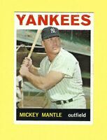 Mickey Mantle 1964 Topps #50 - New York Yankees (EX)
