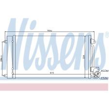 Kondensator Klimaanlage - Nissens 940093