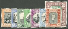 SUDAN #98-104, 107 MINT PART SET