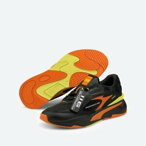 Puma PL RS-Fast Porsche Legacy Motorsport ( Men Sizes: UK 8 - 13 ) Black/Orange