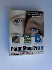 Corel Paint Shop Pro 9 (Factory sealed retail Box, box some wear)
