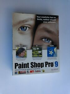 Jasc Paint Shop Pro 9 (Factory sealed retail Box, box some wear)