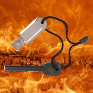Feuerstarter Zündstein Anzünder Firestarter Feuerstein Feuerzeug Funken Survival