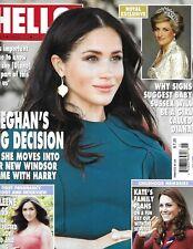 Hello Magazine Meghan Markle Kate Middleton Amy Jackson Myleene Klass 2019