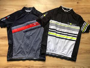 Neenca Mens Cycling Top Jersey Bundle X 2 Blue 3/4 Zip Size EU 2XL Cycle Top