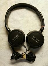 Sony MDR-ZX100 Stereo Headphones Foldable TESTED FREE SHIPPING